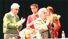 IU homenajea al fundador de las Juventudes Socialistas Unificadas de Alpedrete