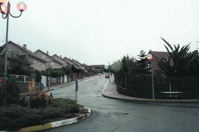 Vista de algunas de las viviendas construidas en la zona de Arroyo Arriba / A. O.