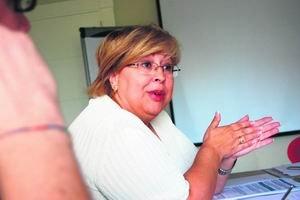 La concejala de Sanidad de Villalba, Amparo Ortiz / A. O.