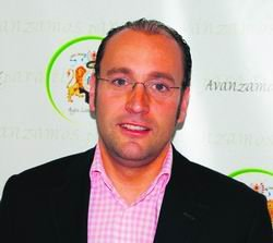 Ignacio González Velayos, en un acto en El Escorial / ARCHIVO