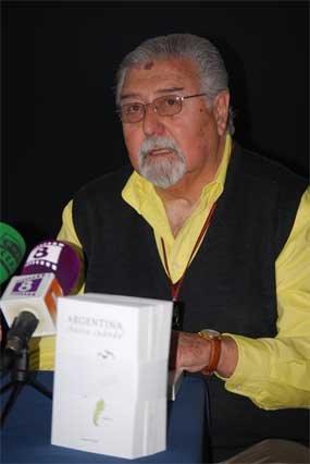 Carlos Trevisi, en la casa de cultura Alfonso X El Sabio