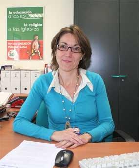 Imagen de archivo de la portavoz de IU, Ascensión de las Heras