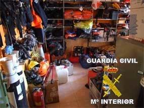 Detenido un empleado de Protección Civil de Robledo como autor de robos por valor de 380.000 euros
