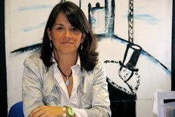 Elena Biurrun, candidata de Vecinos por Torrelodones y virtual alcaldesa (Foto: archivo)