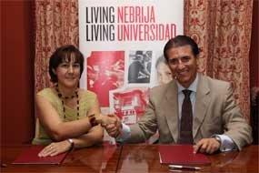 La Universidad Nebrija y ADESGAM firman un convenio para trabajar en el desarrollo de la comarca