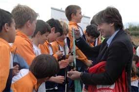 Miles de niños participan en las Miniolimpiadas de Guadarrama, Moralzarzal y San Lorenzo