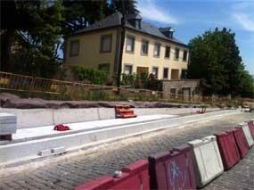 San Lorenzo pide que se agilicen las obras en la carretera de la Estación