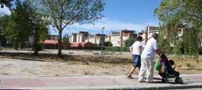 Terrenos donde se crearán los nuevos huertos urbanos