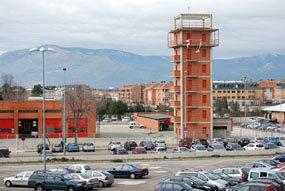 Una pasarela salvará la M-601 entre el recinto ferial y la Ciudad Deportiva de Villalba