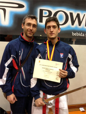 Mario Roca se proclamó campeón de España absoluto en Toledo