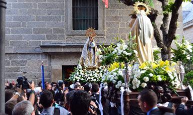 Una gran procesión pondrá fin mañana a los actos por el 25 aniversario de la coronación canónica de la Virgen de Gracia