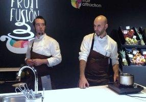 Los cocineros Daniel Ochoa y Luis Moreno