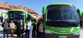 El Consorcio de Transportes refuerza el servicio de autobuses a Madrid