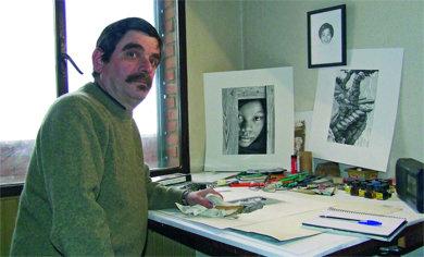 El villalbino Julián Redondo expone hasta el 12 de abril en el Ateneo de Madrid