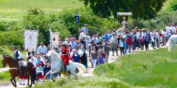 Este domingo se celebra la Romería de la Virgen de los Desamparados