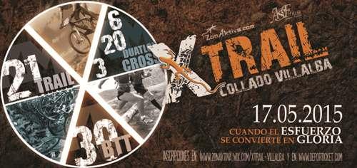 Collado Villalba acoge la espectacular prueba deportiva 'X Trail' el domingo 17 de mayo