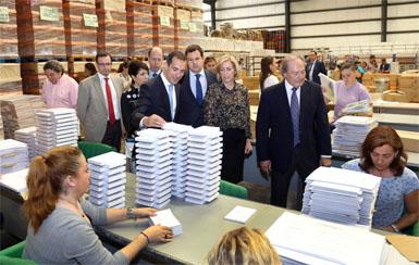 13.216 urnas y 98 millones de papeletas: la logística del 24-M
