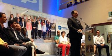 """""""Sólo el PP ofrece estabilidad, experiencia contrastada de gestión y garantía de progreso"""""""