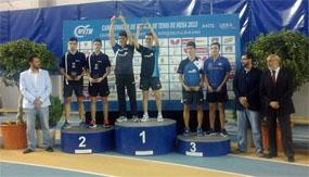 Doble podio para el Collado Mediano en el Campeonato de España de Antequera
