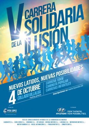 La Fundación Pita López organiza la quinta Carrera de la Ilusión