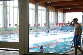 Puesta a punto de la piscina cubierta de cara a la nueva for Piscina collado villalba