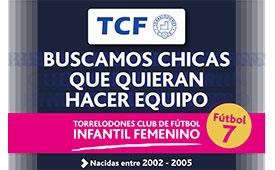 El Torrelodones Club de Fútbol inicia una campaña de captación de jugadoras para las categorías inferiores