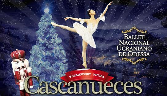 'El Cascanueces' de Tchaikovsky llega al Festival de Navidad interpretado por el Ballet Nacional Ucraniano de Odessa