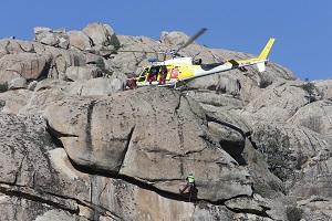 El GERA socorri� el pasado a�o a 228 personas en la sierra madrile�a