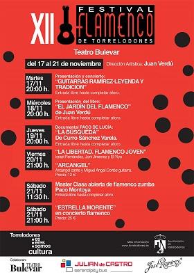 Comienza el XII Festival Flamenco de Torrelodones