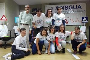 Los alumnos del taller de teatro ADISGUA ganan el tercer premio de educación vial y teatro de la DGT