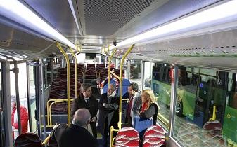 Nuevos autobuses no contaminantes para los servicios urbano e interurbano