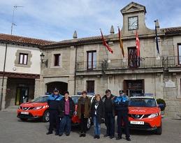 La Policía Local de Guadarrama estrena tres vehículos