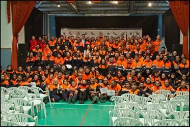 El Escorial acogió el VI Encuentro de Voluntarios de Protección Civil