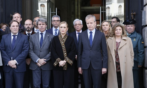 La Comunidad decreta tres días de luto por los atentados de Bélgica
