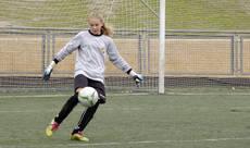 Una villalbina en la selección madrileña de fútbol