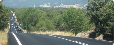 La carretera de El Escorial, la más peligrosa de la Comunidad de Madrid