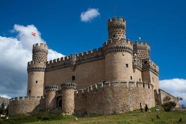 El castillo de Manzanares El Real acoge el I Torneo Nacional de Combate Medieval