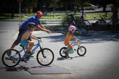 Plan de mantenimiento y rehabilitación de parques en Navacerrada