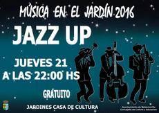 La buena música de Jazz Up llega a los jardines de la Giralt Laporta