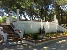 El parque de Pe�alba en una foto de archivo