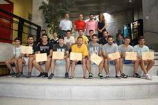 Finaliza el curso de monitor de fútbol base en Galapagar