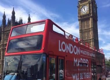 La Comunidad llega al corazón de Londres con una campaña para atraer inversiones tras el 'Brexit'