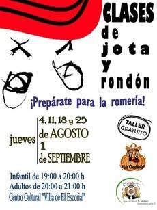 Clases de jota y rondón para preparar la Romería de El Escorial