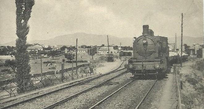 6eae027a1715 El ferrocarril creó en 1860 los dos núcleos urbanos de población de ...