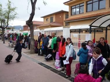 Recta final para los trabajos de mejora de los colegios de Guadarrama