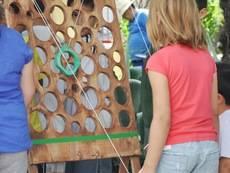 El bosque de los Juegos llega a Guadarrama para ofrecer nuevas posibilidades de diversión a los más pequeños