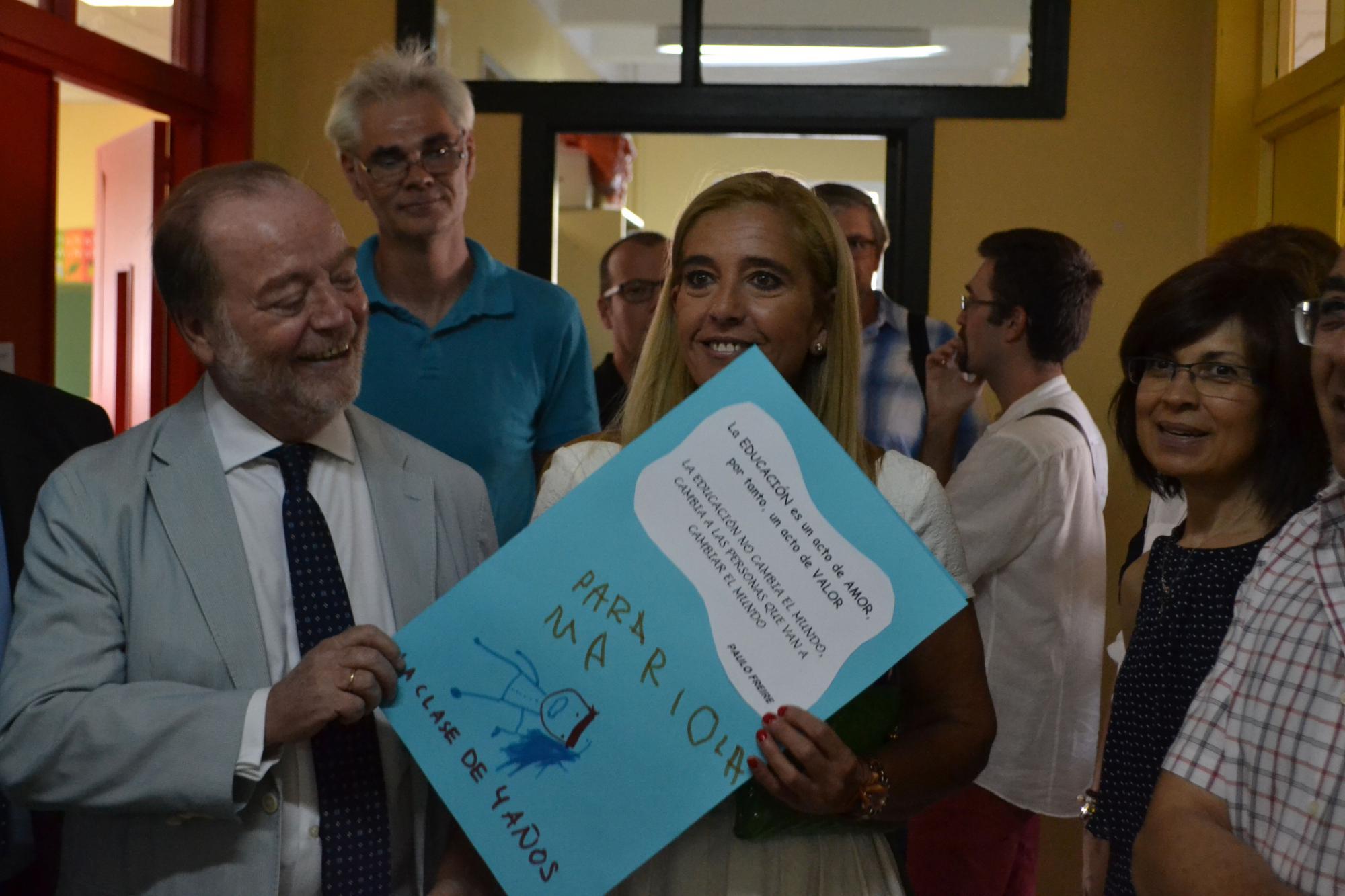 Alumnos inician las clases en collado villalba for Sala 8 collado villalba