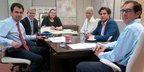 Cumbre Galapagar- Comunidad de Madrid para mejorar el transporte público