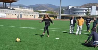 El césped artificial de la Ciudad Deportiva listo para el inicio de la temporada