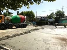 El Ayuntamiento concluye los trabajos de remodelación del patio del Colegio San Gregorio